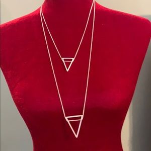 🎟🎟 Double Triangle Necklace